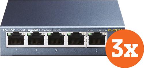 TP-Link TL-SG105 3er-Pack Main Image