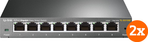 TP-Link TL-SG108E Duo-Pack Main Image