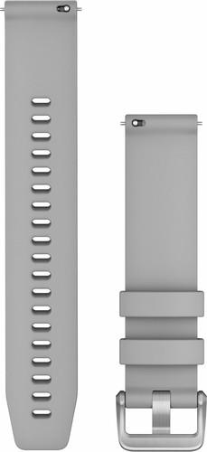 Garmin Silikonarmband Grau/Silber 20 mm Main Image