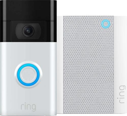 Ring Videotürklingel Gen. 2 Grau + Chime Gen. 2 Main Image