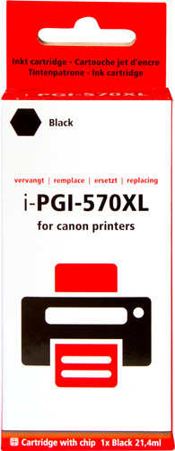 Pixeljet PGI-570XL Patrone Schwarz Main Image