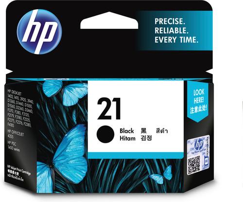 HP 21 Patrone Schwarz Main Image