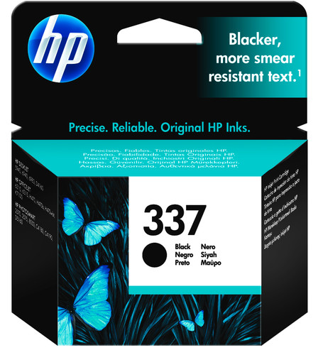 HP 337 Patrone Schwarz Main Image