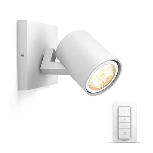 Philips Hue Runner oberflächenmontierter Spot White Ambiance 1er-Spot Weiß Bluetooth + Dim Main Image