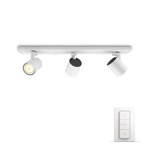 Philips Hue Runner oberflächenmontierter Spot White Ambiance 3er-Spot Weiß Bluetooth Main Image