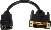Startech HDMI auf DVI-D Dual Link Video-Adapterkabel, 20 cm