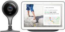 Google Nest Cam Indoor + Google Nest Hub Charcoal