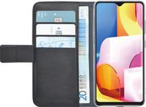 Azuri Brieftasche Samsung Galaxy A71 Bücherregal Schwarz