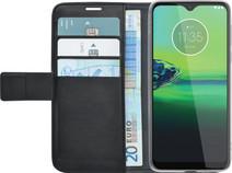 Azuri Motorola Moto G8 Plus Bücherregal Schwarz