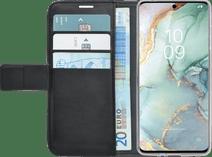 Azuri Brieftasche Magnet Samsung Galaxy S10 Lite Cover Schwarz