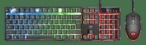 Trust GXT 838 Azor Gaming Combo Tastatur & Maus Qwertz