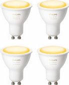 Philips Hue White Ambiance GU10 Bluetooth 4er-Pack