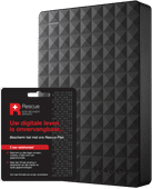 Seagate Expansion portable 5 TB + Seagate Rescue Card 2 Jahre