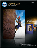 HP Advanced Glossy Fotopapier 25 Bögen (13 x 18)