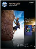 HP Advanced Glossy Photo Paper 25 Blatt (A4)