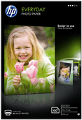 HP Everyday Glossy Photo Paper 100 Blatt (10 x 15)