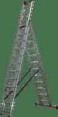 3-teilige Altrex-Mehrzweckleiter Allround AR 3080 3 x 12