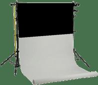 Falcon Eyes SPK-2W inkl. 2 Rollen Schwarz/Weiß 1,35 x 11 m