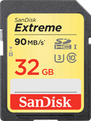 Sandisk SDHC Extreme, 32 GB, 90 MB/s, Class 10
