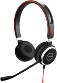 Jabra Evolve 40 UC Stereo kabelgebundenes Office-Headset