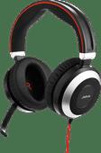 Jabra Evolve 80 UC Stereo kabelgebundenes Office-Headset