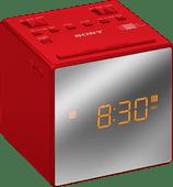 Sony ICF-C1T Rot