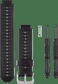 Garmin Forerunner 235/230/630 Silikonband Schwarz/ Grau