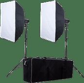 Falcon Eyes Studioblitzset SSK-2200D mit Tasche