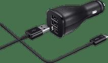 Samsung-Autoladegerät USB-C Dual 1,5 m. Schwarz, 2 A