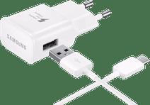 Samsung Ladegerät mit USB-C-Kabel, 1,2 m, Adaptive Fast Charge, 15 W, Weiß