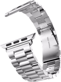 Just in Case Apple Watch 42/44 mm Edelstahl-Armband Silber