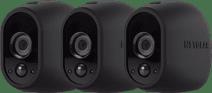Arlo Wire-Free Kamera-Überzug, 3er-Pack, Schwarz