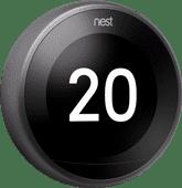 Google Nest Selbstlernendes Thermostat V3 Premium Schwarz