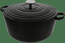 BK Bourgogne Bräter 28 cm Jet Black