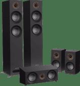 Jamo S 807 HCS Surround Set Schwarz