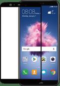 Azuri gehärtetes Glas Huawei P Smart Displayschutzglas Schwarz