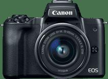 Canon EOS M50 Body Schwarz + 15-45 mm f/3.5-6.3 IS STM