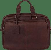 Burkely Antique Avery Workbag 15'' Braun