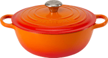 Le Creuset Marmite Bräter 32 cm Orangerot