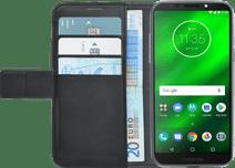 Azuri Brieftasche Magnet Motorola Moto G6 Play Book Case Schwarz