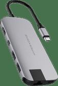 Hyper Slim USB-C 8 in 1 Dockingstation Space Grau
