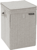 Stapelbare Brabantia Wäschebox 35 Liter - Grau