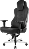 AKRacing, Gaming Chair Office - PU Leather Onyx / Schwarz