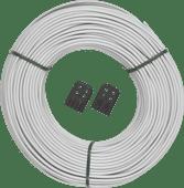 Brabantia-Wäscheleine 65 Meter Weiß