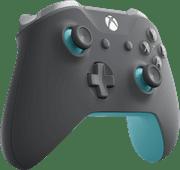 Microsoft Xbox One kabelloser Controller in Grau/Blau