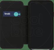 Decoded Leather Slim Wallet Apple iPhone Xr Buchhülle Schwarz