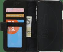 Dekodierte 2-in-1-Lederbrieftasche Apple iPhone Xr Book Case Schwarz