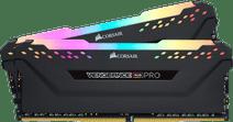 Corsair Vengeance RGB Pro 16GB DDR4 DIMM 2.666 Mhz/16 (2x8GB) Schwarz