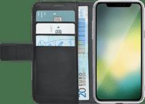 Azuri Brieftasche Magnet Apple iPhone Xr Book Case Schwarz