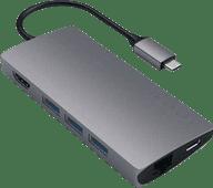 Satechi-Kabeladapter von USB-C zu USB-A, Ethernet und HDMI